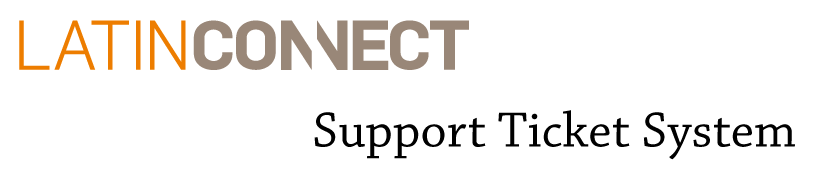 Latinconnect :: Support Ticket System